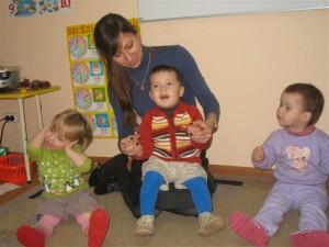 Занятия с детьми